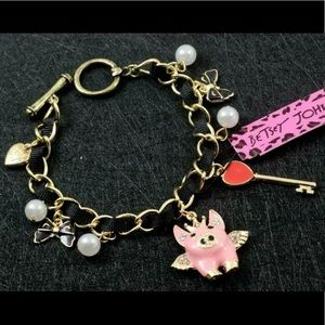 BETSEY JOHNSON~ When Pigs Fly Bracelet